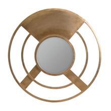 Marlee Gold Round Mirror