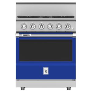 """Hestan30"""" 4-Burner Dual Fuel Range - KRD Series - Prince"""