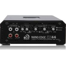Nano Edge Series 100-Watt-RMS x 4 at 4 Ohms 4-Channel Class AB Amp