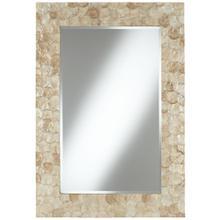 Capiznon Wall Mirror