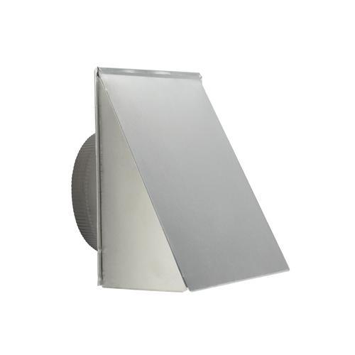 "BEST Range Hoods - Aluminum Fresh Air Inlet Wall Cap for 8"" Round Duct"