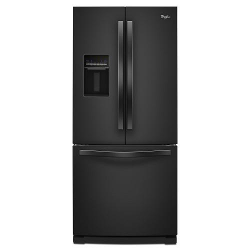 Gallery - 30-inch Wide French Door Refrigerator with Exterior Water Dispenser - 19.7 cu. ft.