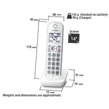 KX-TGDA59W Handsets