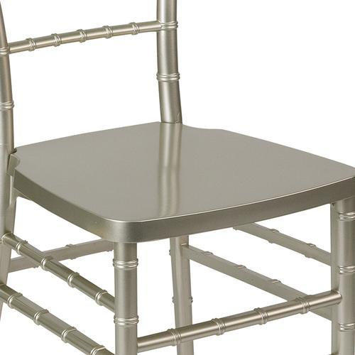 Flash Furniture - HERCULES PREMIUM Series Champagne Resin Stacking Chiavari Chair