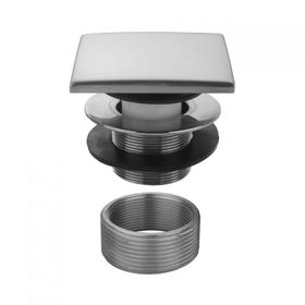 Europa Bronze - Square Top Toe Control Tub Drain