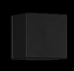 Volume Control Trim Kit Only SQU + Equal Plate Matt Black Product Image