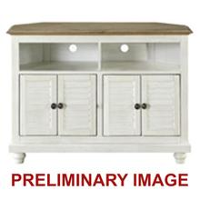 See Details - Farmhouse Corner TV Stand