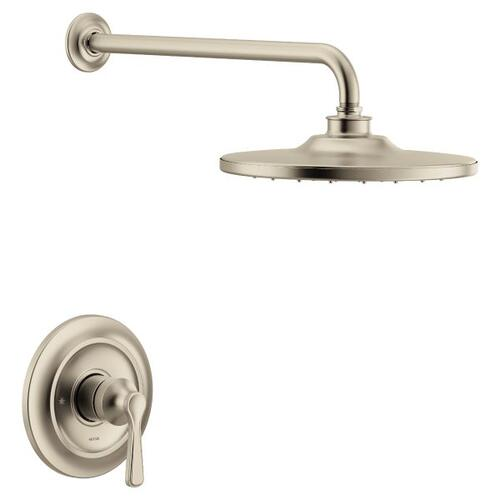 Colinet brushed nickel m-core 3-series shower only