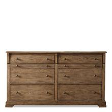 Sherborne Six Drawer Dresser Toasted Pecan finish