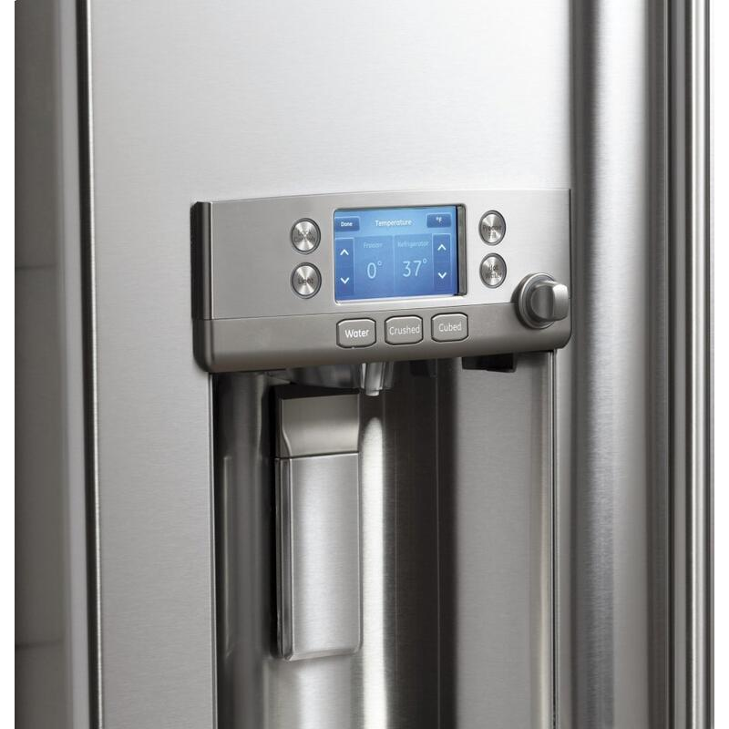 Café ENERGY STAR ® 22.1 Cu. Ft. Smart Counter-Depth French-Door Refrigerator with Keurig ® K-Cup ® Brewing System