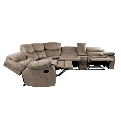 3-Piece Sectional with Right Console