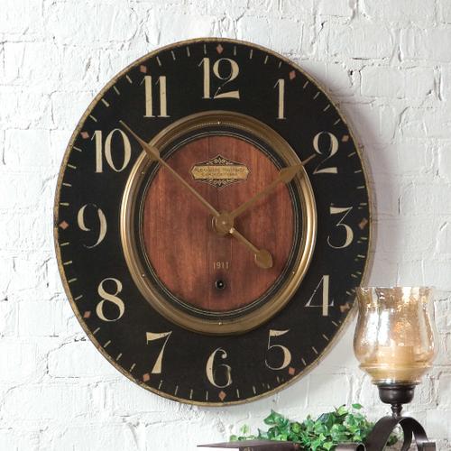 """Uttermost - Alexandre Martinot 30"""" Wall Clock"""