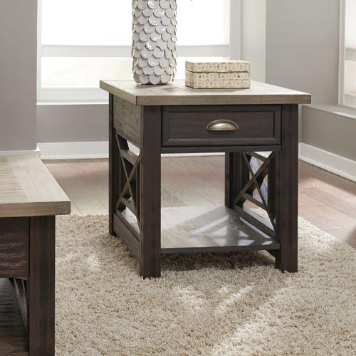Liberty Furniture Industries - Drawer End Table