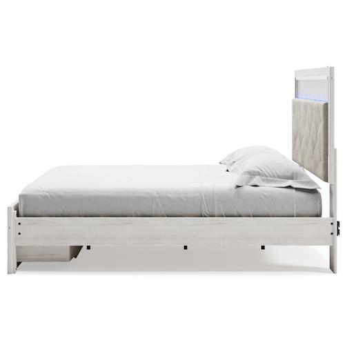 Altyra King Panel Platform Bed