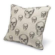 Sweet Dreams Large Square Pillow- Skalle/ Bone