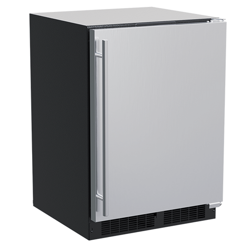 Gallery - 24-In Built-In High-Capacity Freezer with Door Style - Stainless Steel