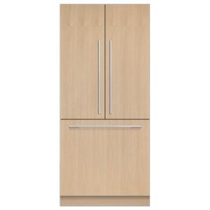 "Fisher & PaykelIntegrated French Door Refrigerator Freezer, 36"", Ice"