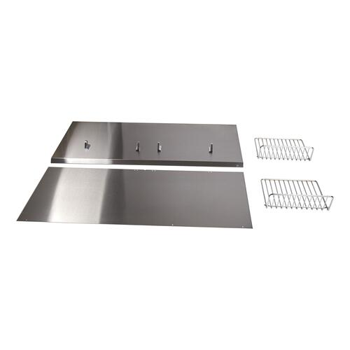 "Backguard with Shelf - 36"" Stainless Steel - Other"