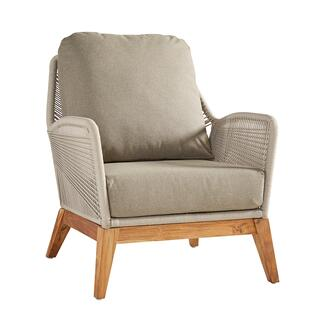 See Details - Outdoor Gray Fiddler Occasional Chair