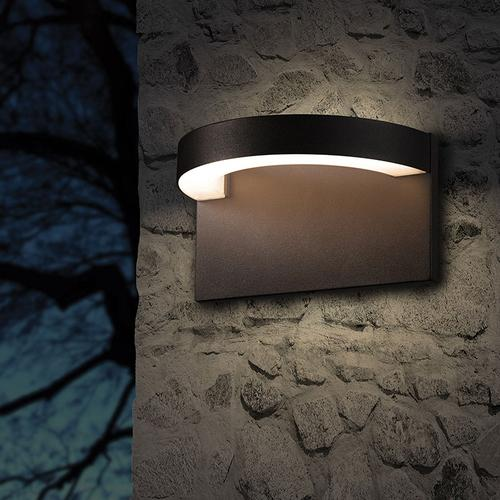 Sonneman - A Way of Light - Cusp LED Sconce [Color/Finish=Textured Gray]