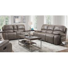 Platinum Reclining Sofa and Loveseat