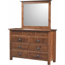 Briarwood- Koehler Creek 9 Drawer Dresser