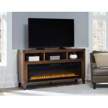 "Royard 65"" TV Stand with Fireplace"