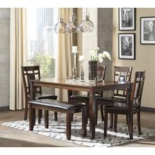 6-Piece Bennox Dining Room Table Set (6/CN)