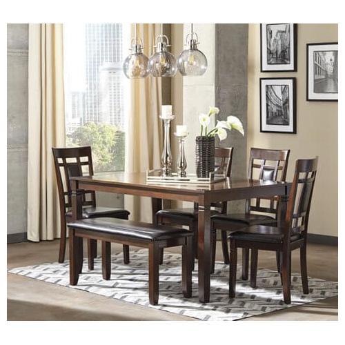 6-Piece Bennox Dining Room Table Set (6/CN)