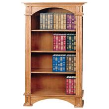 4 Shelf Fluted Bookcase