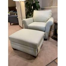 See Details - Andrew Chair & Ottoman
