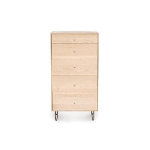 CANVAS 5 DRAWER WIDE WITH SOFT CLOSE SELF CLOSE DRAWERS CHEST
