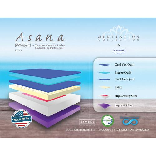 Asana Mattress, Meditation Series