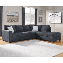 Altari - Slate - 2-Piece Sectional with Right Facing Chaise and Full Sleeper Chaise
