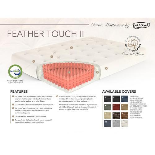 "9"" Feather Touch II Futon Mattress"