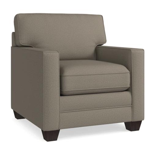 Bassett Furniture - Alex Track Arm Chair - Fog