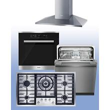 "MIELE - Save up to $1,800 on Miele Kitchen Packages of your choice. See 4-Pc ""Built-In"" Example."