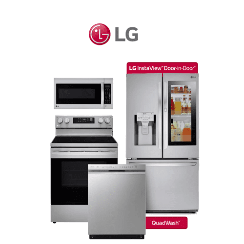 Packages - LG 4 Piece Stainless Package. Price Valid Thru 9/29/21