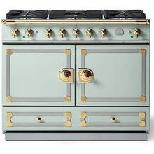 Tapestry Cornufe 110 with Polished Brass Accents