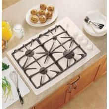 "CLOSE-OUT! GE Profile Series 30"" Built-In Gas Cooktop"