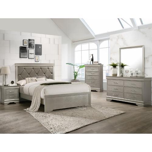 Crown Mark B6910 Amalia Full Bedroom