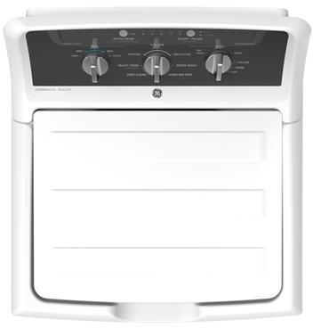 GE Appliances - GE® 4.2 cu. ft. Capacity Washer with Stainless Steel Basket