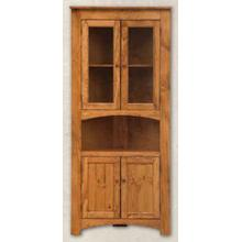 4 Door Corner Cabinet