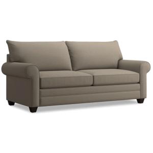 Alex Roll Arm Sofa - Fog