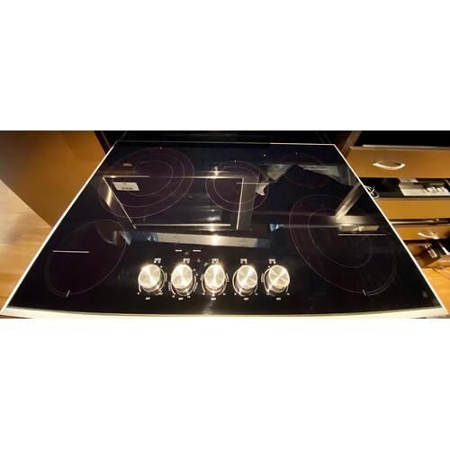 "JennAir JEC3536HS  Lustre Stainless 36"" Electric Radiant Cooktop"