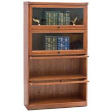 4 Door Barrister Bookcase Lift Lid Doore