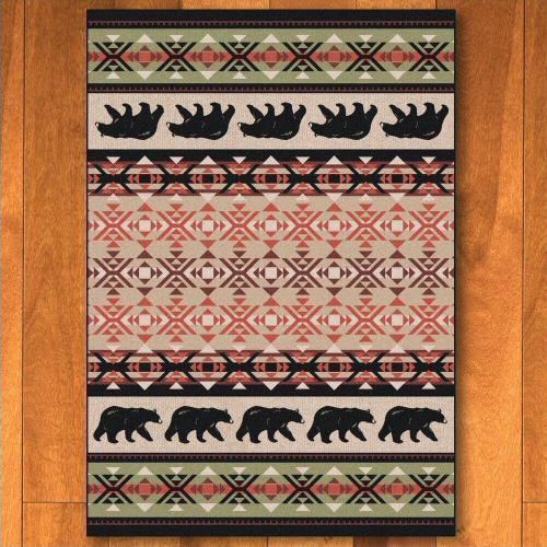American Dakota Rugs - Cozy Bears