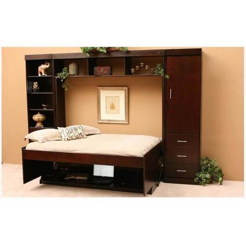 Bristol Deluxe Hidden Desk Bed With Hutch
