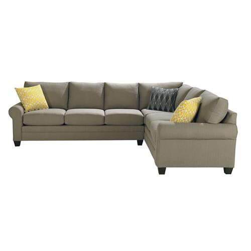Premium Collection - Carolina Sock Arm Sectional