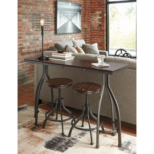 Ashley Furniture - D284-113  Pub Table and 2 Stools
